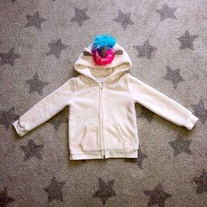 🦄 Adorable🦄 Children's Place hoodie EUC 4T